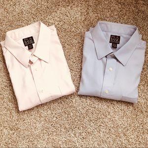 2 Jos. A. Bank dress shirts